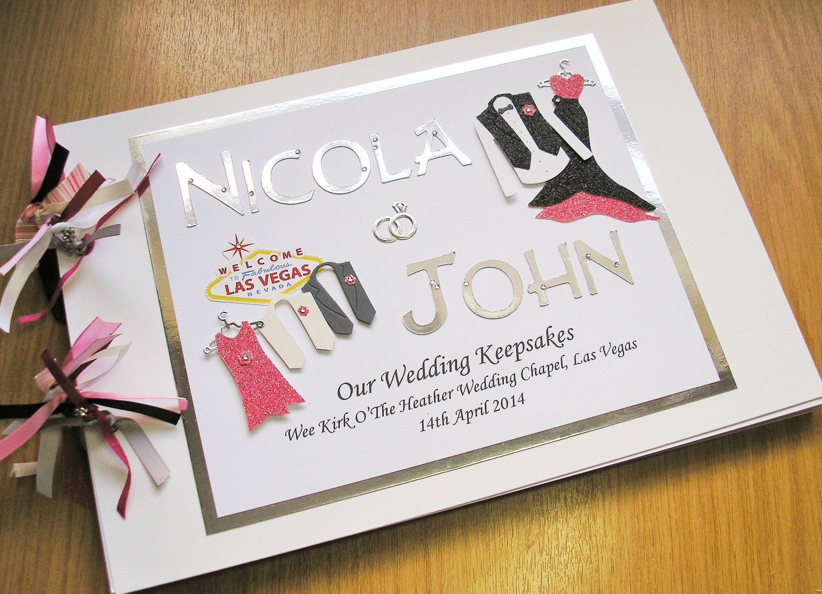 Guest Book Wedding Names With Custom Attire