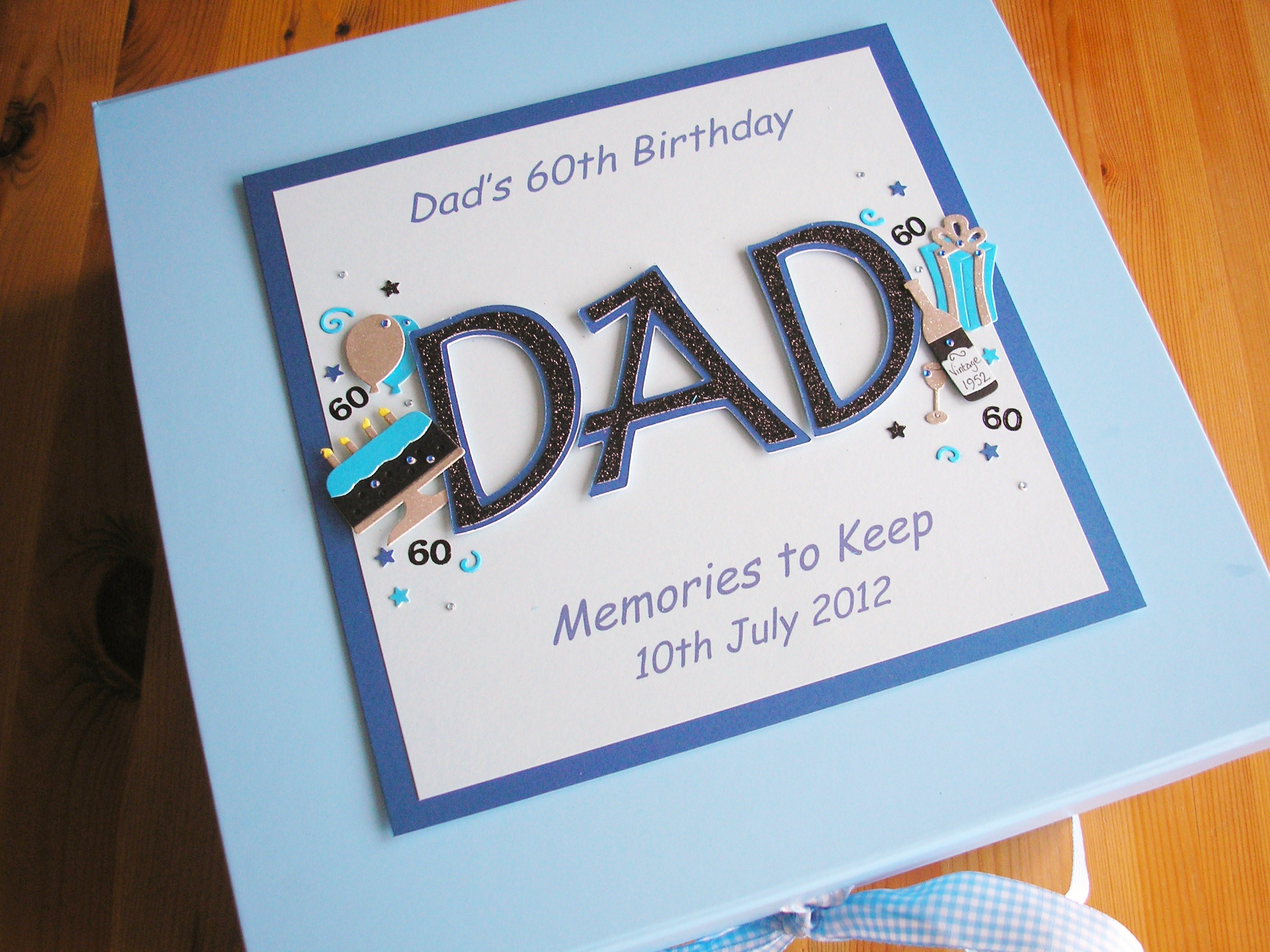 Keepsake Box Mens Name Birthday Decorations Dad