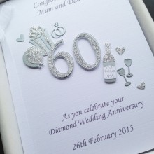 Anniversary cut out number diamond