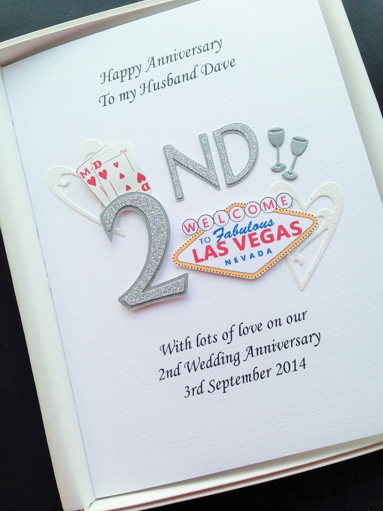 Anniversary with bespoke theme example Las Vegas