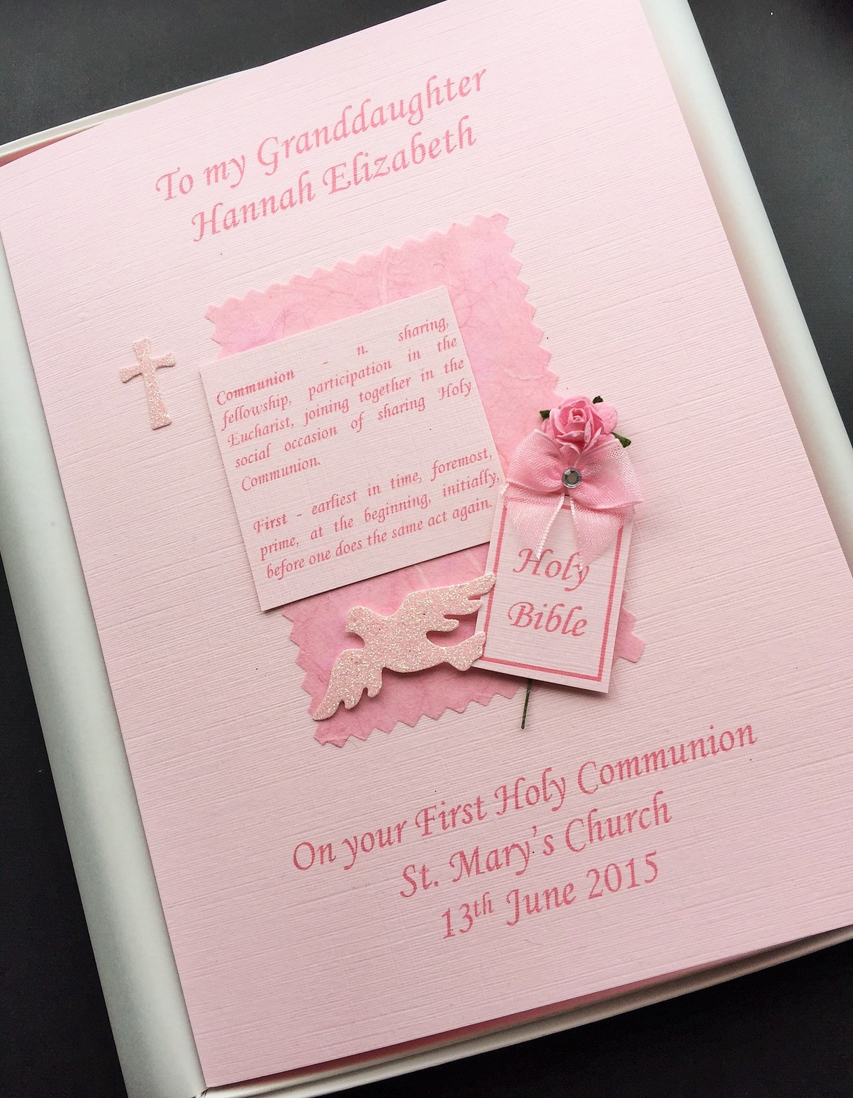 communion definition pink on pink