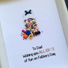 Fathers day Allsorts jar