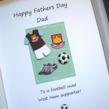 Fathers day any football team kit