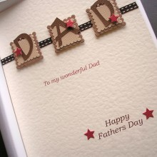 Fathers day three letters