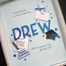 Graduation cut out name