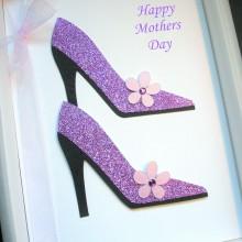 Mothers day glitter stilettos
