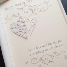 Mothers day lace scrolls