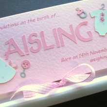 New baby cut out name for girls long name