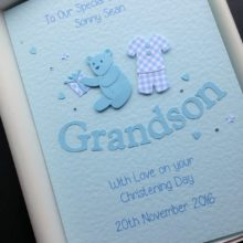 Christening boys outfit Grandson