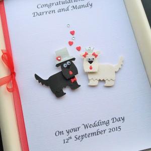 Wedding animals dogs terriers