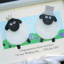 Wedding animals sheep