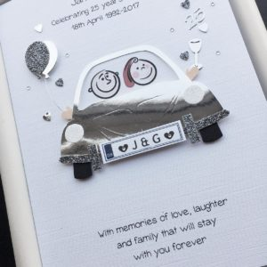Anniversary car silver