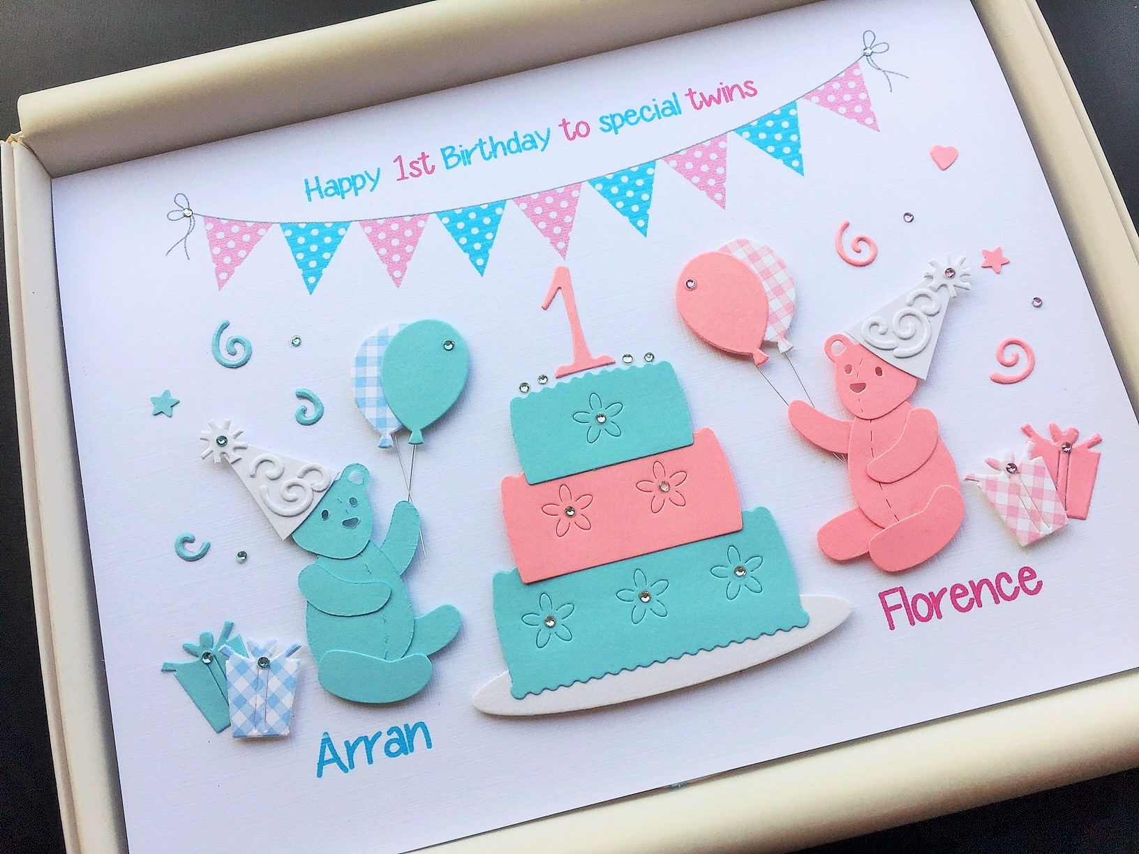 Childrens Twins Birthday Party