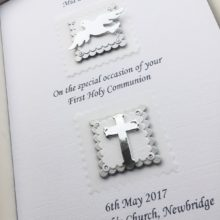 Communion duo patches silver