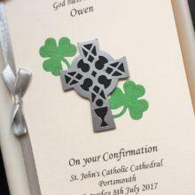 Confirmation Celtic crucifix Irish