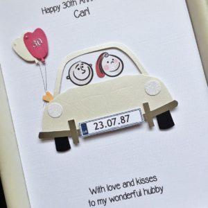 Anniversary car pearl
